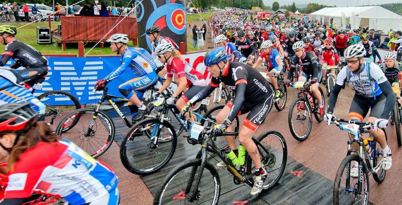 cykel till cykelvasan