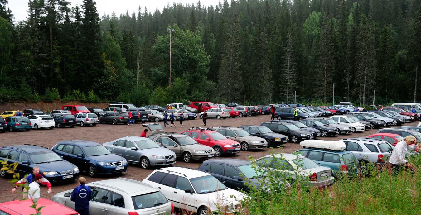 88c82674663 Här finns parkering längs Vasaloppsarenan.