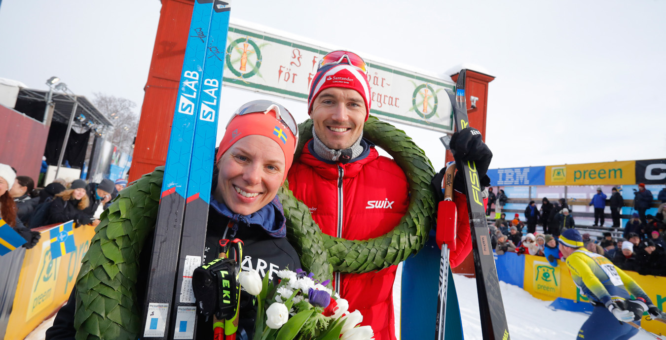Vasaloppet Andreas Nygaard Och Lina Korsgren Vann